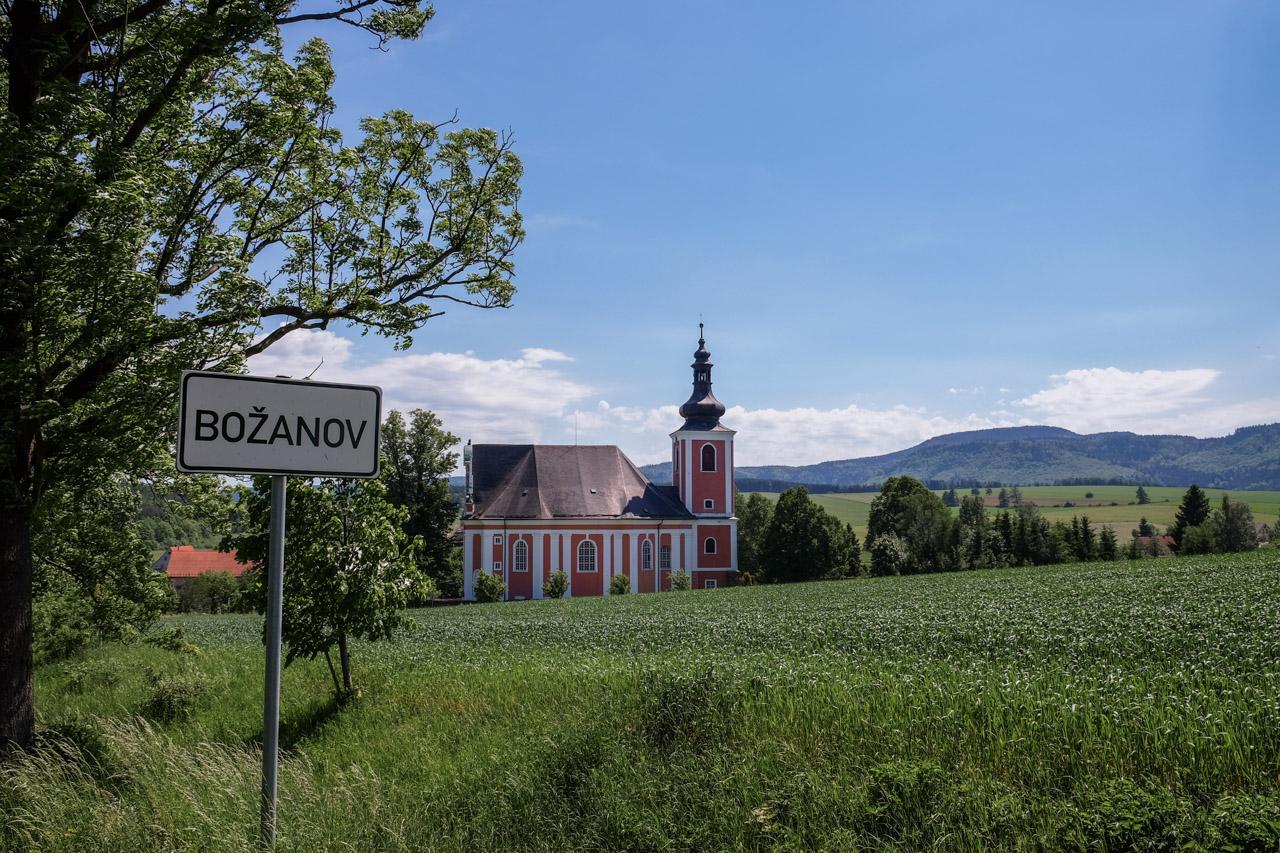 Božanov - malebná vesnice na Broumovsku