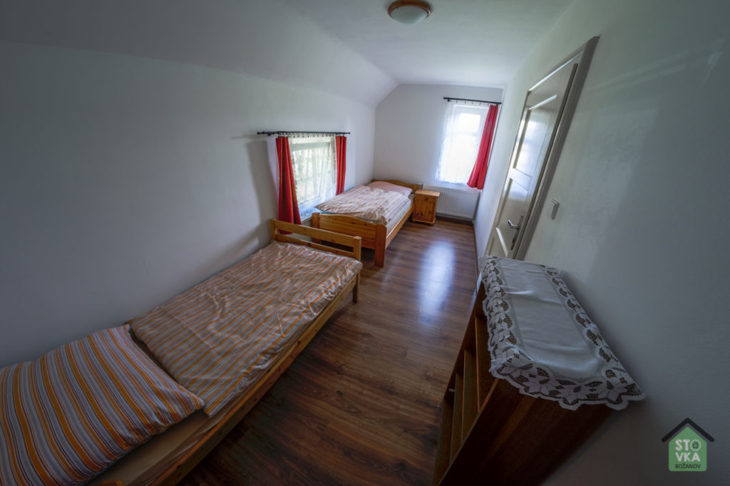 Apartmán č. 1 - druhý pokoj