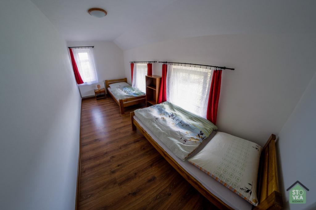 Apartmán č. 2 - druhý pokoj