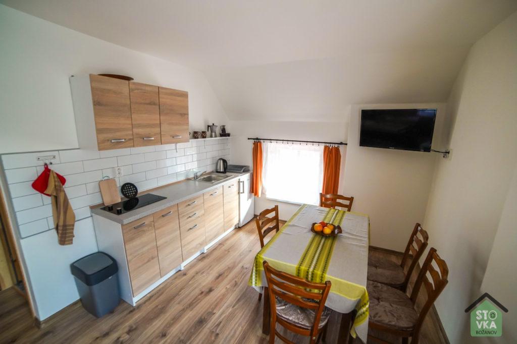 Studio pro 5 osob - kuchyně